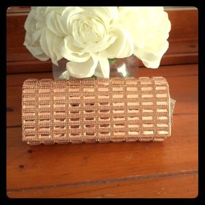 Brand new Rose gold Clutch Bag